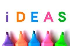 Ideas Stock Photo