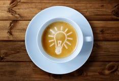 Ideias do copo de café Fotos de Stock Royalty Free