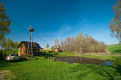 Idyllic countryside getaway Stock Photo