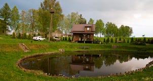 Idyllic countryside getaway Stock Photography