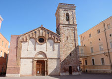 Iglesias Cathedral Royalty Free Stock Photography