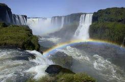 Iguazu Falls - Brazil / Argentine border Stock Images