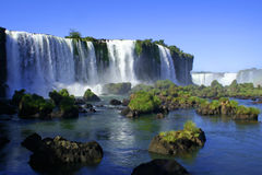 Iguazu waterfalls Stock Image