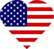 Ik houd van Amerika Stock Afbeelding