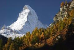 Il Matterhorn Immagini Stock