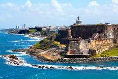 Il Porto Rico i Caraibi Fotografia Stock Libera da Diritti