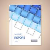 Illustration de vecteur de couverture de rapport annuel  Photographie stock