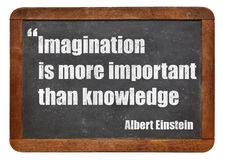 Imagination and knowledge Royalty Free Stock Photo