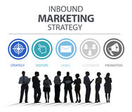 Inbound Marketing Strategy Advertisement Commercial Branding Royalty Free Stock Photos