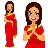 Indian Traditional Woman Stock Image