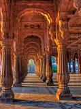 Indore Rajwada, het koninklijke paleis van Indore, India Royalty-vrije Stock Fotografie