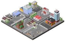Industrial Area Concept Stock Photography