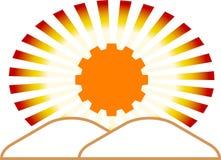 Industrial emblem Royalty Free Stock Photo