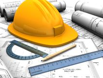 Industrial plan Stock Photography