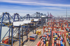 Industrial port Royalty Free Stock Images
