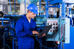 Industrial programmer Royalty Free Stock Image