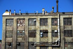 Industrial ruin Stock Photography