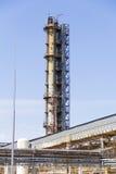 Industriell vom Raffinerieturm Lizenzfreies Stockbild