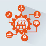 Industry design Stock Images
