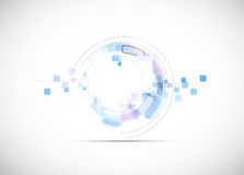 Infinity computer new technology concept business background Stock Image