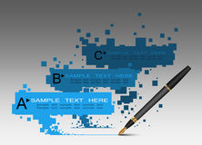Info graphics design Royalty Free Stock Photography