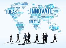 Innovation Inspiration Creativity Ideas Progress Innovate Concep Royalty Free Stock Images