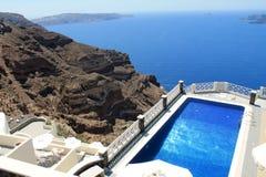 Insel Griechenlands Europa Santorini Stockbild