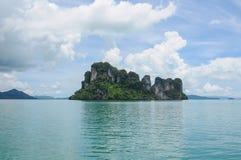 Insel an Phangnga-Bucht Lizenzfreie Stockbilder