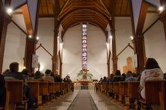 Inside church Stock Image