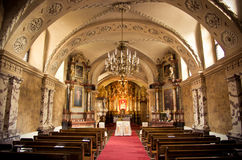 Inside of a church Royalty Free Stock Photo