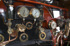 Inside a Steam Engine Royalty Free Stock Photography