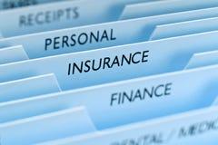 Insurance File Royalty Free Stock Photos