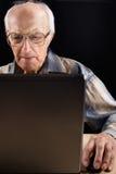 Intellectual senior man Royalty Free Stock Photo
