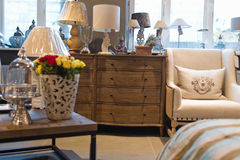 Interior furniture store Royalty Free Stock Image