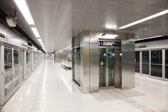 Interior of  metro station Gorg Stock Photography