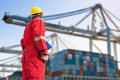 Internationell logistik Royaltyfri Fotografi