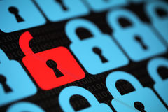 Internet security Royalty Free Stock Image