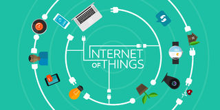 Internet of things Stock Photography