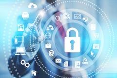 Internet-veiligheid Stock Afbeeldingen