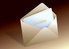 Invitation envelope Royalty Free Stock Images