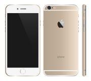 Iphone 6 gold Stock Photos