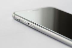 Iphone 6s knappdetalj Royaltyfria Bilder