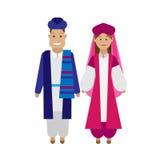 Iranian national dress Stock Images