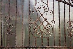 Iron fence Stock Image