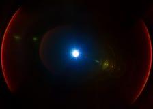 Isolated light lens flare leak Stock Photo