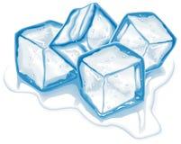 isvektor för kuber fyra Royaltyfria Bilder