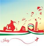 Italian holidays background Stock Photography