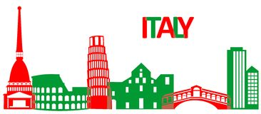 Italy architecture Royalty Free Stock Images