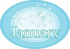 januari Arkivbild