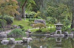 Japanese Kyoto Garden Holland Park London Stock Image